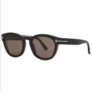 Tom Ford sunglasses. Bryan in black.